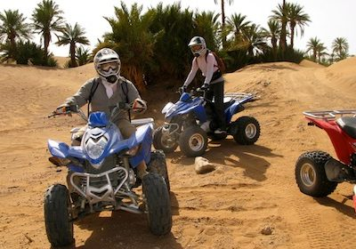 Marrakech en Quad